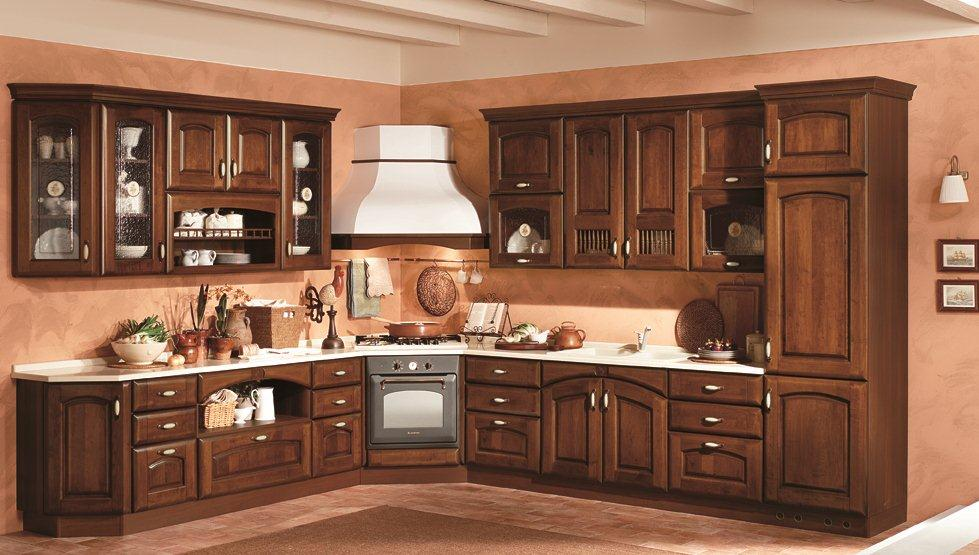 Cucina classica anticata arredook ardea arredamento - Arredamento cucina classica ...