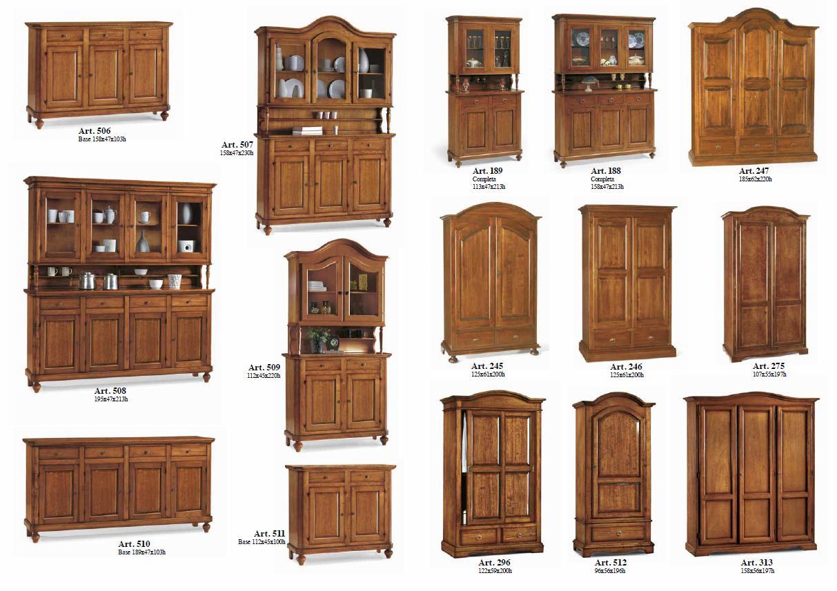 Vetrine e armadi legno arredook ardea arredamento casa cucine camere letti divani - Mobili usati belluno ...