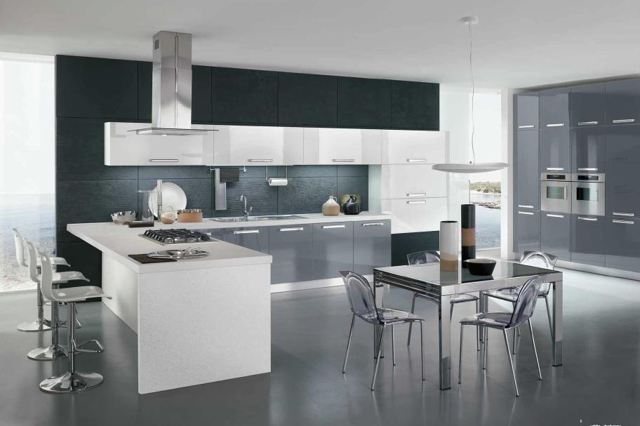 Cucina moderna lucida arredook ardea arredamento casa cucine camere letti divani - Prodotti ikea cucina ...