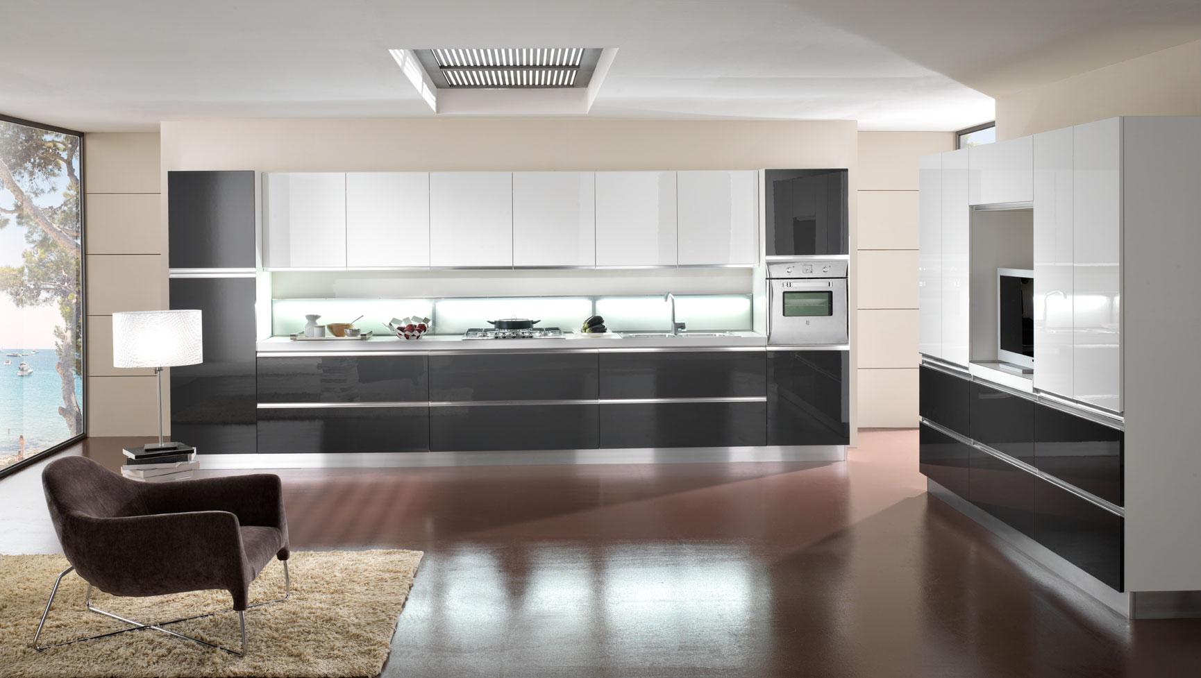 Cucina moderna anta gola arredook ardea arredamento casa cucine camere letti divani - Cucine mobilturi ...