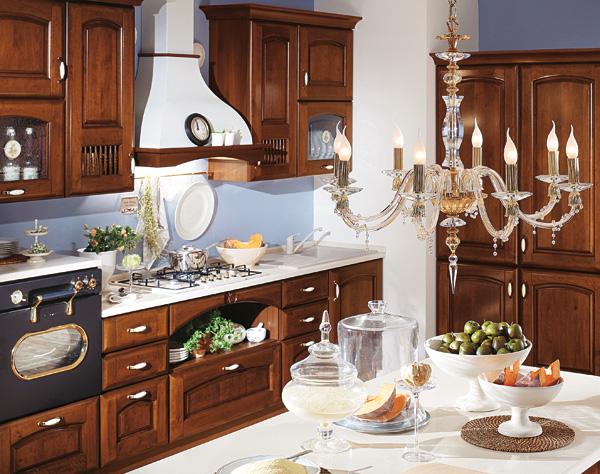 Cucina classica anticata arredook ardea arredamento - Mobilturi cucine classiche ...
