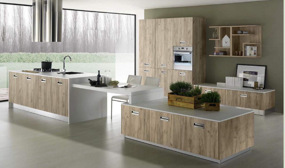 Cucine Componibili Pomezia.Cucina Moderna Materico Arredamento Cucine Ardea