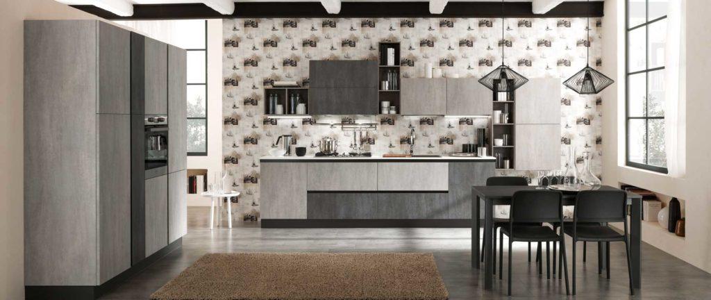 cucina industrial cemento